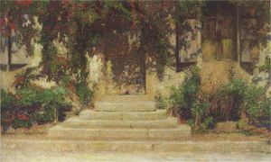 Henri Jean Guillaume Martin - Doorway into the House