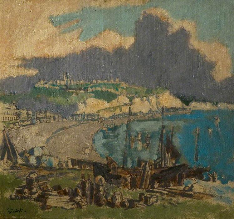 famous painting Dover, Kent of Walter Richard Sickert