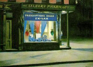 Edward Hopper - Drug Store