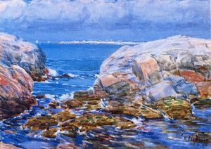 Frederick Childe Hassam - Duck Island, Isles of Shoals