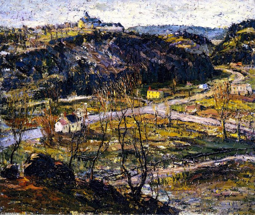 famous painting Dunwoodie, Upper New York of Ernest Lawson