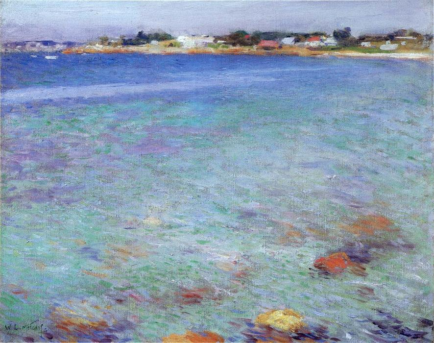 famous painting Ebb Tide of Willard Leroy Metcalf