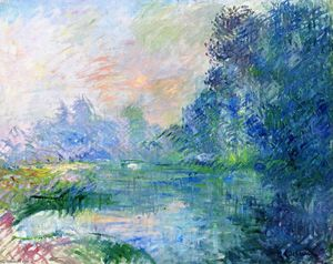 Gustave Loiseau - Edge of the Eure, Morning Effect