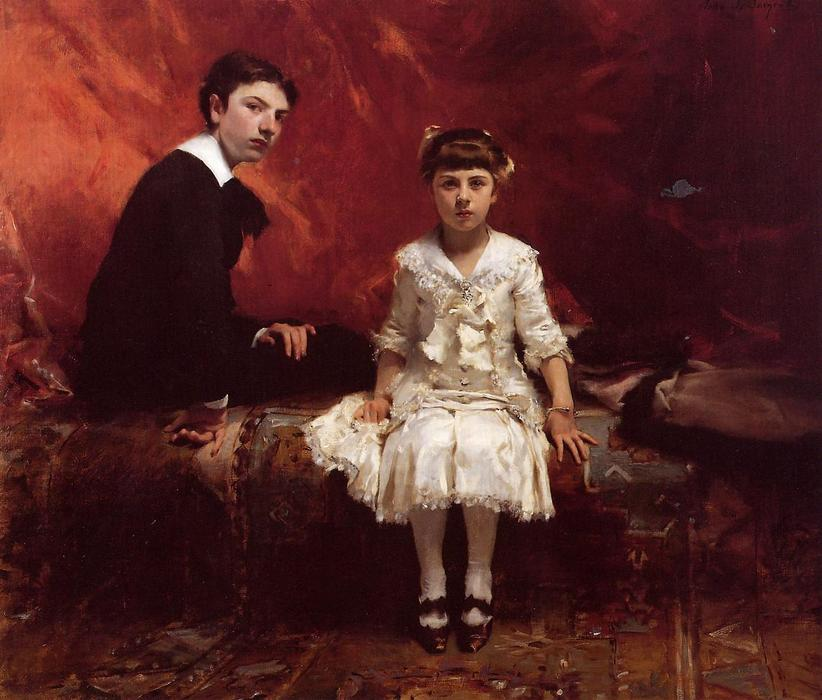 famous painting Edouard and Marie Louise Pailleron of John Singer Sargent