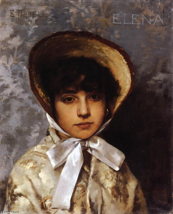 famous painting Elena of Edmund Charles Tarbell