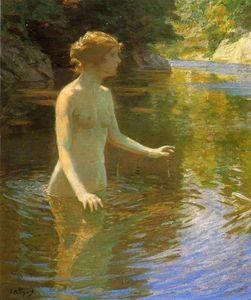 Edward Henry Potthast - Enchanted Pool