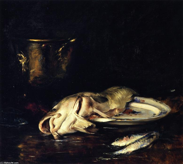 famous painting An English Cod of William Merritt Chase