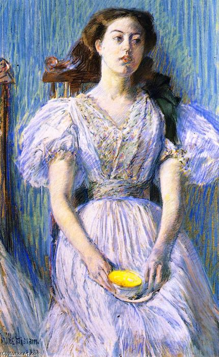 famous painting Ethel Moore of Frederick Childe Hassam