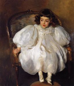 John Singer Sargent - Expectancy (also known as Portrait of Frances Winifred Hill)