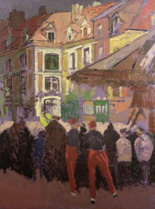 Buy Museum Art Reproductions Impressionism | The Fair, Dieppe, France by Walter Richard Sickert | TopImpressionists.com