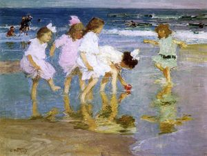 Edward Henry Potthast - The Fairies