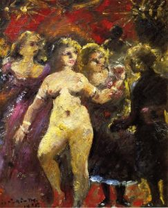 Lovis Corinth (Franz Heinrich Louis) - The Fair Imperia