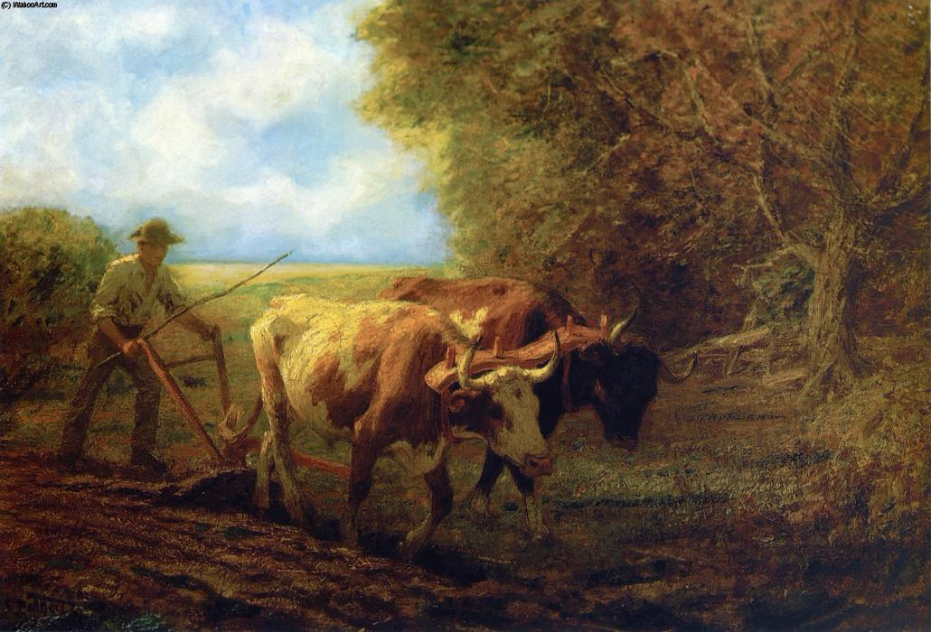 famous painting Fall Plowing of Edward Henry Potthast