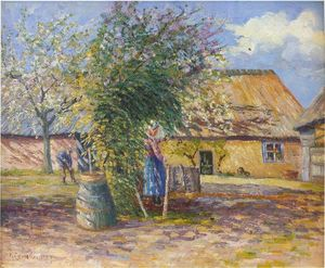 Gustave Loiseau - Farm in the Country