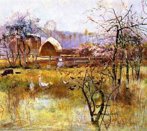 Charles Edward Conder - The Farm, Richmond, New South Wales