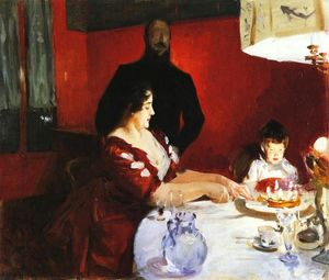 John Singer Sargent - Fete Famillale: The Birthday Party