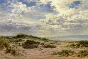 Benjamin Williams Leader - A Fine Morning on the Sussex Coast