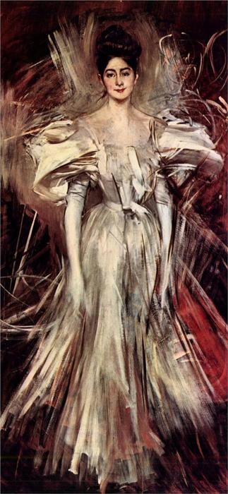 famous painting Firework of Giovanni Boldini