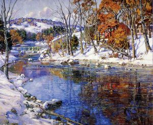 George Gardner Symons - The First Snowfall