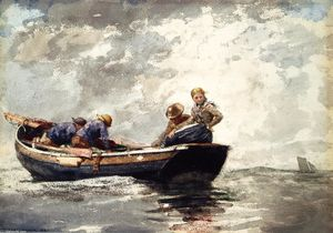 Winslow Homer - Fisher Folk in Dory