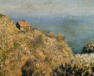 Claude Monet - The Fisherman's House at Varengeville