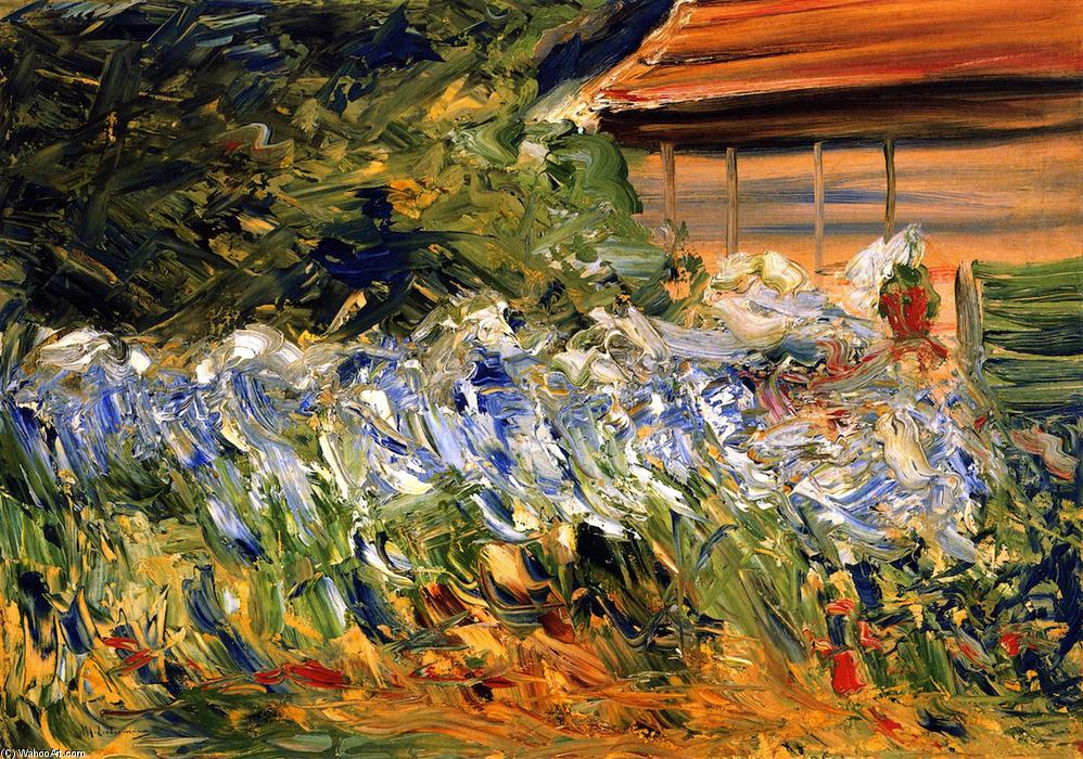 famous painting Flowers at the Gardener's House of Max Liebermann