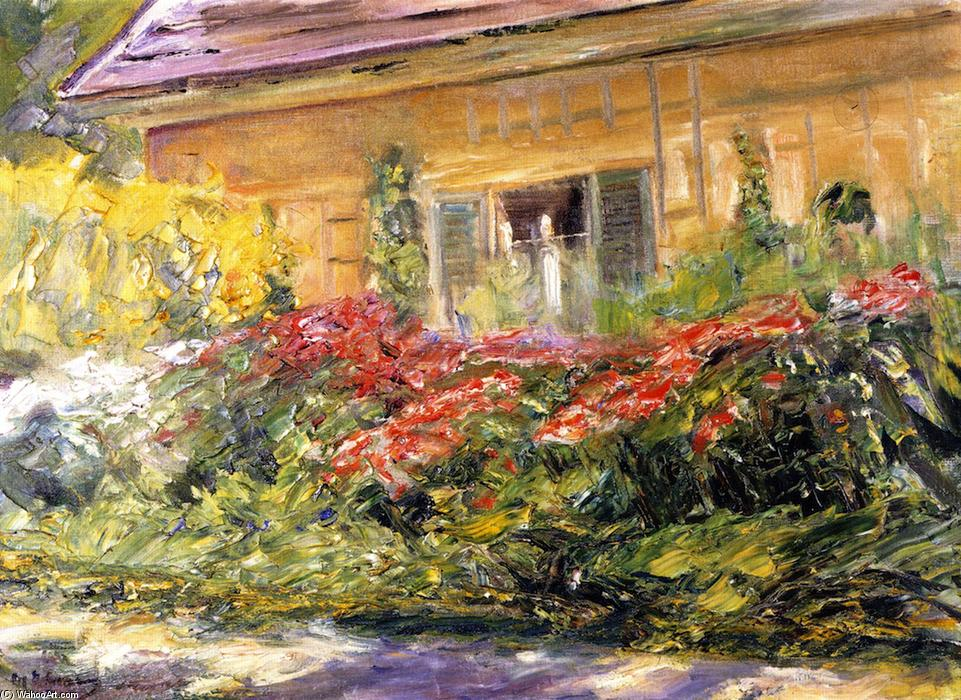 famous painting Flowers at the Gardener's House toward the North of Max Liebermann
