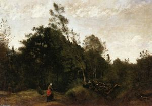 Jean Baptiste Camille Corot - Forest Clearing in the Limousin