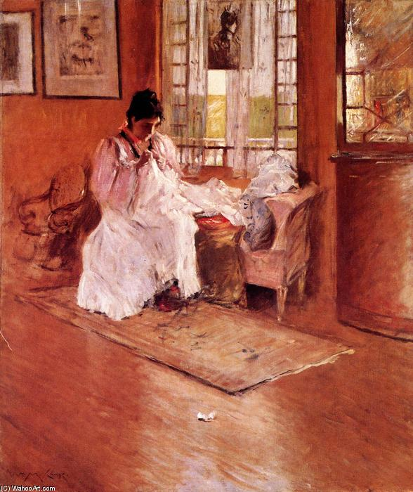 famous painting For the Little One (also known as Hall at Shinnecock) of William Merritt Chase