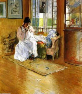 William Merritt Chase - 'For the LIttle One (also known as Hall at Shinnecock)'