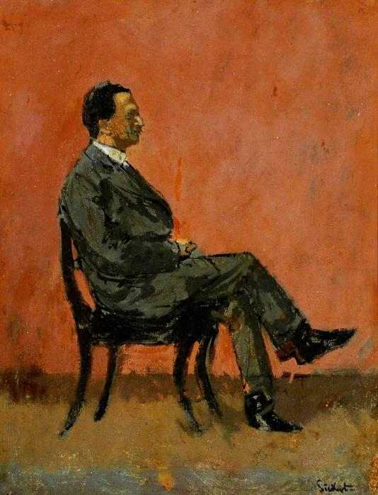 famous painting Fred Winter of Walter Richard Sickert