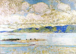 Frederick Childe Hassam - Frenchman's Bay, Mount Desert