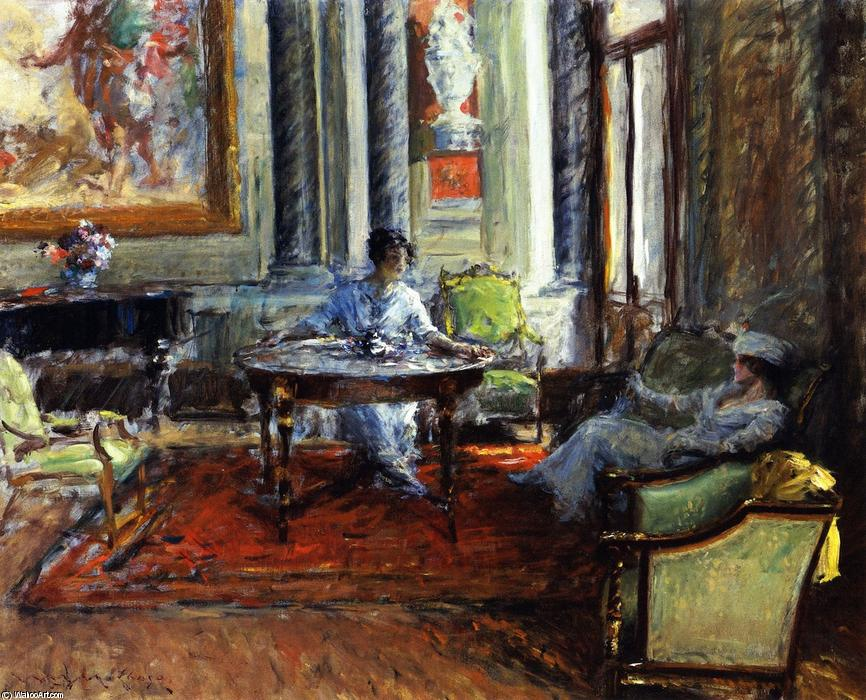 famous painting Friendly Advice of William Merritt Chase
