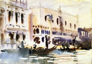 John Singer Sargent - From the Gondola