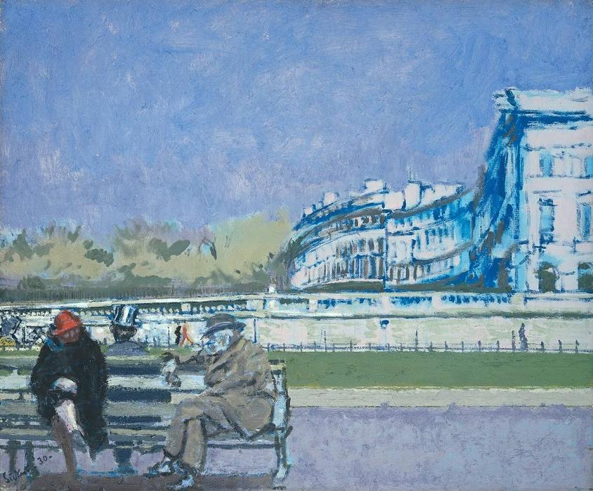famous painting The Front at Hove of Walter Richard Sickert