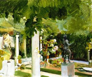 Joaquin Sorolla Y Bastida - Garden of the Sorolla House