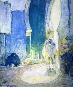 Henry Ossawa Tanner - Gate to the Casbah