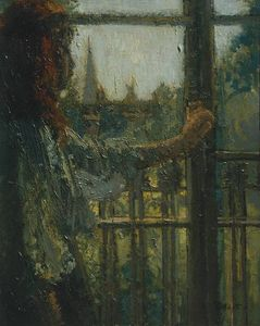 Walter Richard Sickert - Girl at a Window, Little Rachel