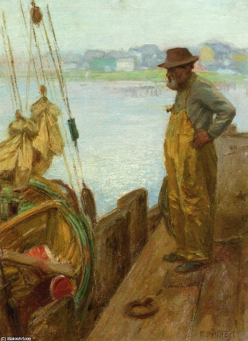 famous painting Gloucester Fisherman of Edward Henry Potthast
