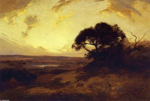 Robert Julian Onderdonk - Golden Evening, Southwest Texas