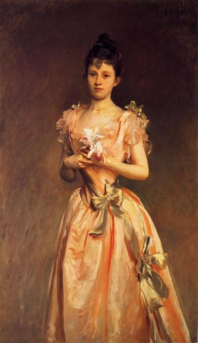 famous painting Grace Woodhouse of John Singer Sargent