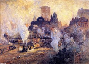 Colin Campbell Cooper - Grand Central Station