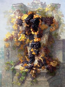Edwin Deakin - Grapes and Architecture