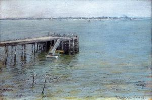 William Merritt Chase - Gravesend Bay (also known as The Lower Bay)
