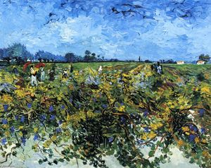 Vincent Van Gogh - The Green Vinyard
