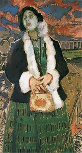 Walter Richard Sickert - Gwen Frangcon-Davies, in 'The Lady with a Lamp'