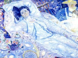 Frederick Carl Frieseke - The Hammock