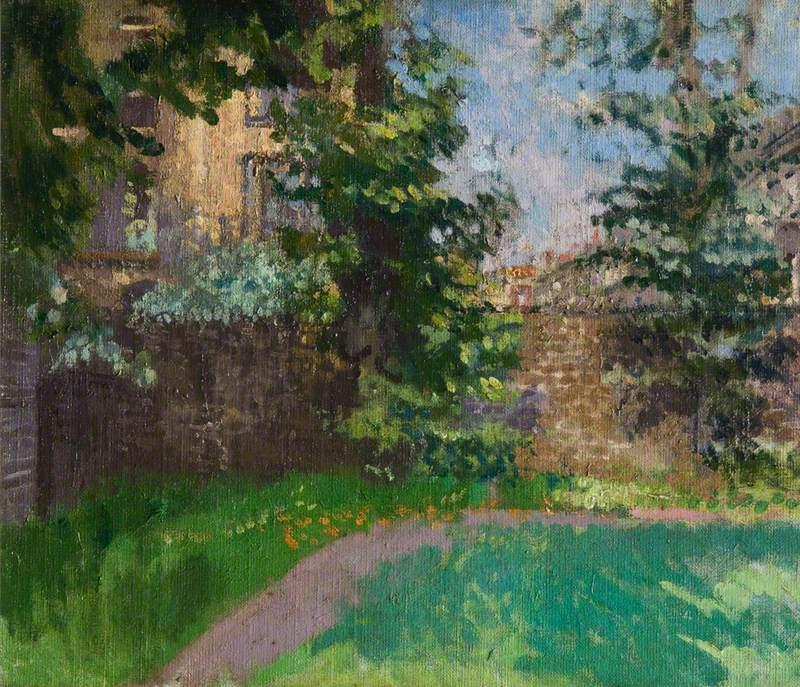 famous painting Hampstead, London of Walter Richard Sickert