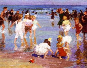 Edward Henry Potthast - Happy Days