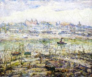 Ernest Lawson - The Harlem River